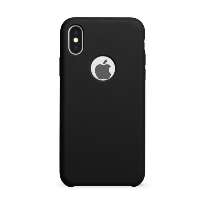 Soft Black com furo iPhone X/XS (0)