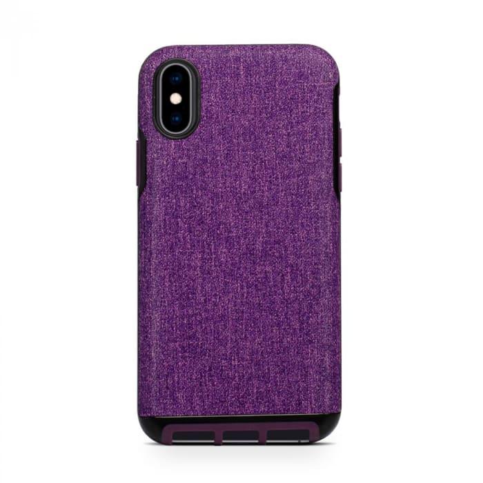 Impactor Ultra Fabric Purple iPhone XS Max (0)